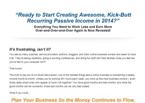 Coach Glue - Sticky Passive Income