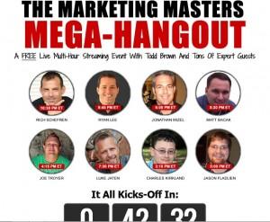 Todd Brown - Mega Hangout