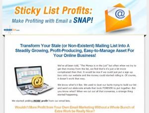 Coach Glue - Sticky List Profits