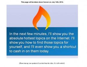 Hot Topic Firesale