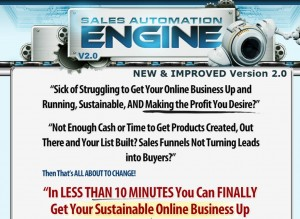 Sales Automation Engine