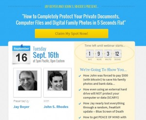 Jay Boyer & John Rhodes - Protect Your Documents