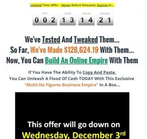 Multi Six Figure Business