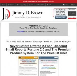 Small Reports Fortune and iPremium Products Freemium
