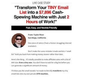 Taylor Rizer - 7k Email Hacks