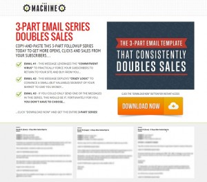 Email Series Doubles Sales